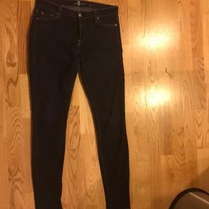 Seven for all mankind skinny jeans